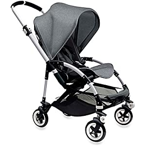 Bugaboo Bee3 Complete with Aluminum Base and Grey Melange...