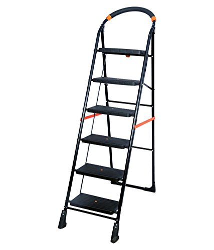 PAffy Milano 6-Steps Folding Ladder