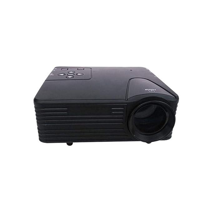 HBOY Pequeño proyector portátil de casa 320 * 240 teléfono móvil ...