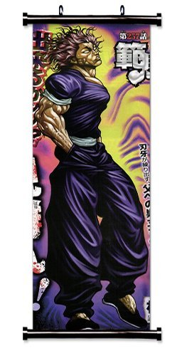 Baki The Grappler Anime Fabric Wall Scroll Poster 16 X 48 Inches