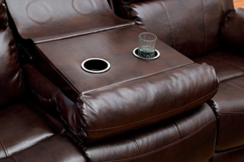 Furniture Of America Derick 2 Recliner Sofa Sofas And