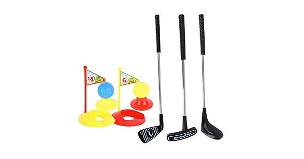 Amazon.com: STOBOK Juego de 12 mini juegos de golf para ...