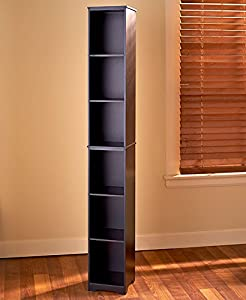 Slim Storage Tower (Black)