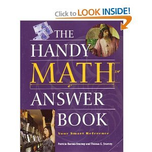 book cover of The Handy Math Answer Book
