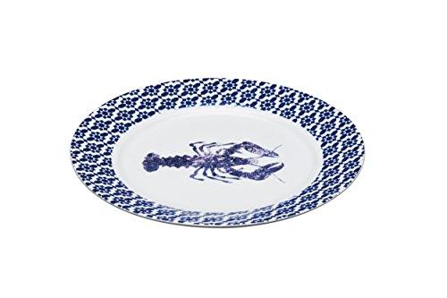 (MasterClass Artesà Porcelain 'Lobster' Serving Plate, 30 cm (12
