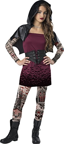 InCharacter Costumes Big Girl's Streep Vamp Large Childrens Costume, Multi, ()