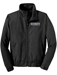 Security Jacket, Economy, Reflective Logo, Security Guard Charger Jacket Black
