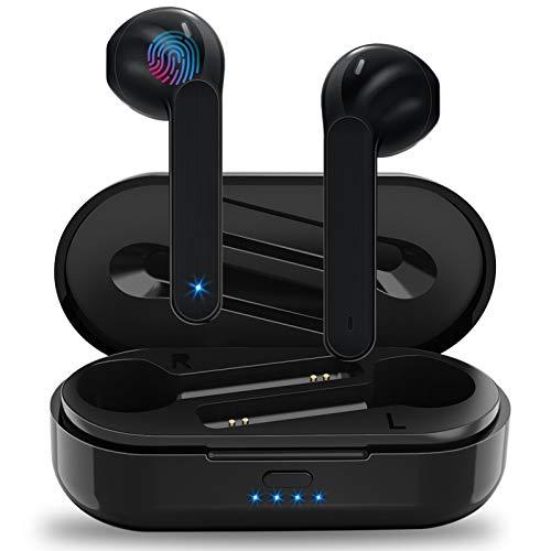 Auriculares Inalámbricos Soicear Auriculares Bluetooth 5.0 In Ear con Micrófono, HiFi Estéreo, IPX5 Impermeabile, Reproducción de 24 Horas, Control Táctil para iPhone Xiaomi Samsung Huawei a buen precio