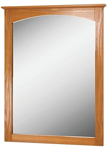 Oak Bathroom (Foremost WROM2128  Worthington 21-Inch Oak Bathroom Mirror)