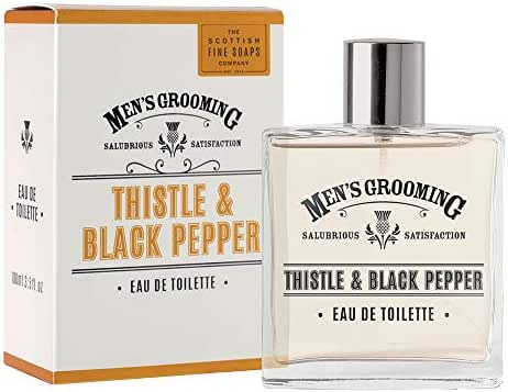 Scottish Fine Soaps Thistle & Black Pepper EDT 100ml by Scottish Fine Soaps