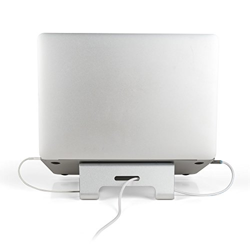 Mingo Labs AP-1 Laptop Stand with Cord Management for 10''-15'' Laptops, Silver by Mingo Labs (Image #6)