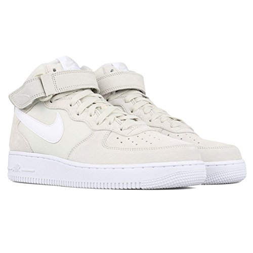 Nike Air Force 1 Mid '07, Zapatillas de Baloncesto para Hombre, Beige (Light Bone/White-White), 40 EU