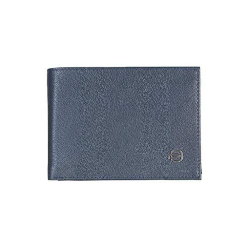 Piquadro Portafoglio Nero Piquadro Blu Portafoglio Scuro Nero Blu SqS6aOrZx