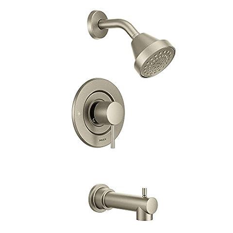 Moen T2193BN Align Posi-Temp Tub/Shower, Brushed Nickel