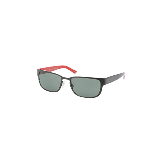 Ralph Lauren Gafas de Sol Polo PH3065 MATTE BLACK/GREY GREEN