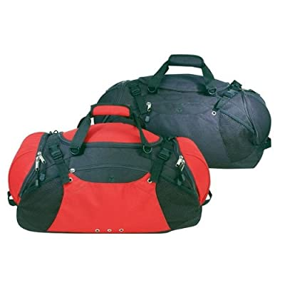 Sport Gym Deluxe Ripstop Duffel Bag- Black