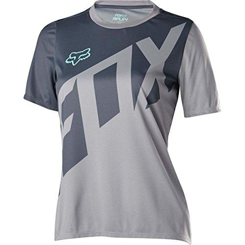 Fox Racing Ripley Short-Sleeve Jersey - Women's Grey, L by Fox Racing