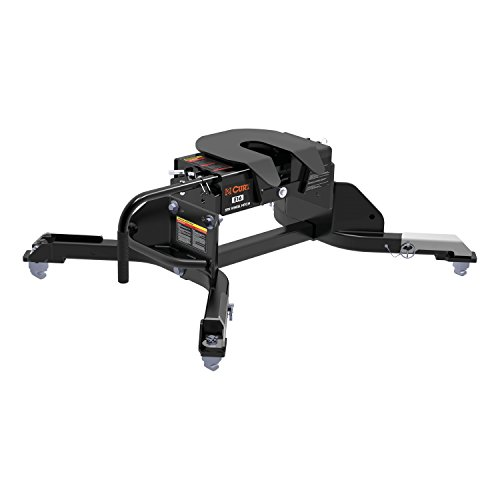 (CURT 16041 E16 Black 5th Wheel Hitch with Ram Puck System Legs (16,000 lbs. GTW))
