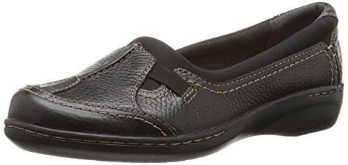 Clarks Evianna Fuse Beleg-auf Schuh Black