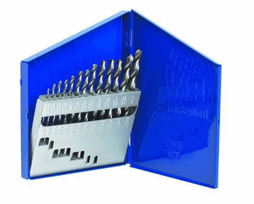 Irwin Industrial Tools 60136 General Purpose Metal Index Drill Bit Set, 13-Piece Size: 13pc Metal Index Style: HSS, Model: 60136, Hardware (Style Index)
