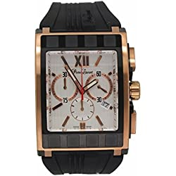 Pierre Laurent Mens' Rectangular Chrono Watch, 63211B