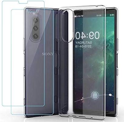 kaliter Funda para Sony Xperia 5,Modelo Clear Suave TPU Gel ...