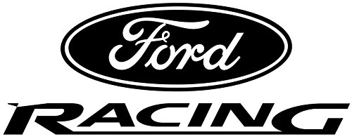 Ford Truck Car Racing Decal Vinyl White Sticker 12'' width by 4.5'' height