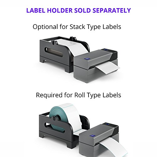 Rollo Label Printer - Commercial Grade Direct Thermal High Speed Printer -  Compatible with Amazon, Ebay, Etsy, Shopify - 4×6 Label Printer