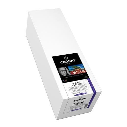 Canson Infinity Platine Fibre Rag Art Paper, 24''X50' Roll by Canson