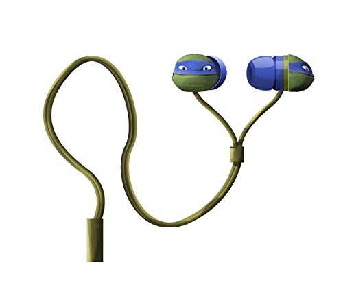 Nickelodeon Teenage Mutant Ninja Turtles Molded Earbuds, Colors May Vary (11365)