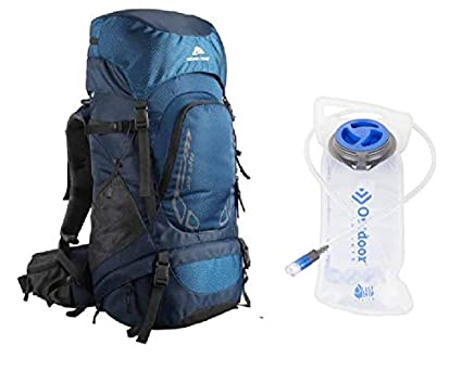 Amazon.com: Ozark - Mochila de senderismo, 40 l, color azul ...
