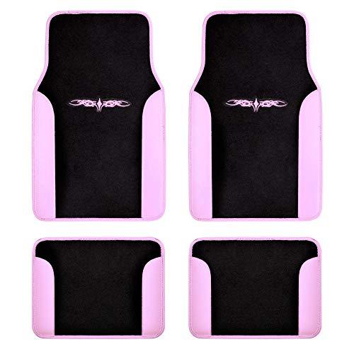 car floor mat pink - 4