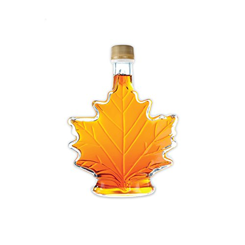 (Pure, Organic Canadian Maple Syrup, All-Natural, Grade-A Amber Rich Taste | Delicious Sweetness | No Preservatives, Gluten Free, Vegan Friendly (1 X 100ml))