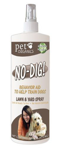 Pet Organics (Nala) DNB04616 No-Dig Lawn and Yard Dog Spray, 16-Ounce ()
