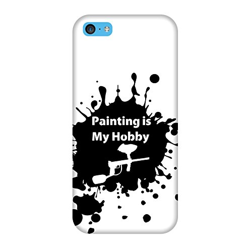 Coque Iphone 5c - Paintball Hobby