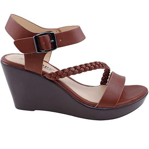 c1659c45912 Agape PAMELA-94 Lightweight Comfort Platform Wedge Sandal