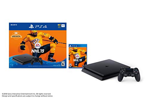 Sony PlayStation 4 1TB Slim – NHL 19 Bundle Edition