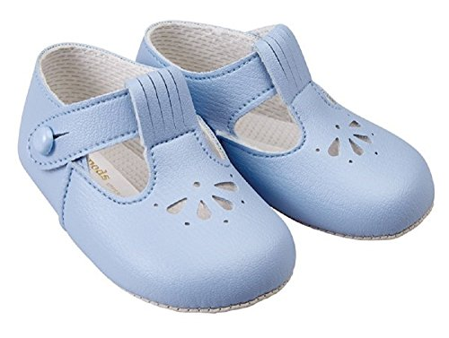 Baypods , Baby Jungen Lauflernschuhe blau himmelblau