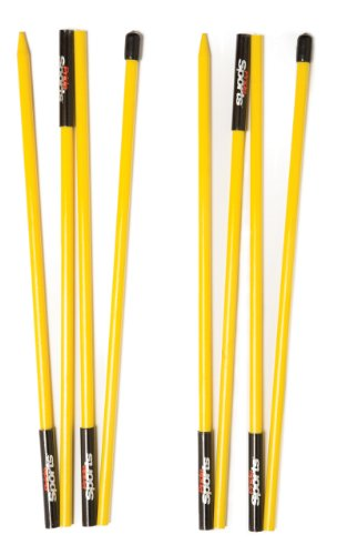 Swing Stick Golf (PrideSports Golf Alignment Stick (Set of 2), Yellow)