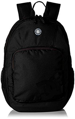 Dc Shoes Mens Backpack (DC Shoes Men's The Locker 23L Medium Backpack Black OS & Cooling Towel Bundle)