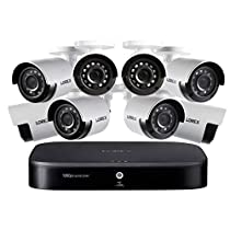 1080p Full HD 8-Channel Security System with 1 TB DVR and Eight 1080p Night Vision Bullet Cameras with Smart Home Voice Control