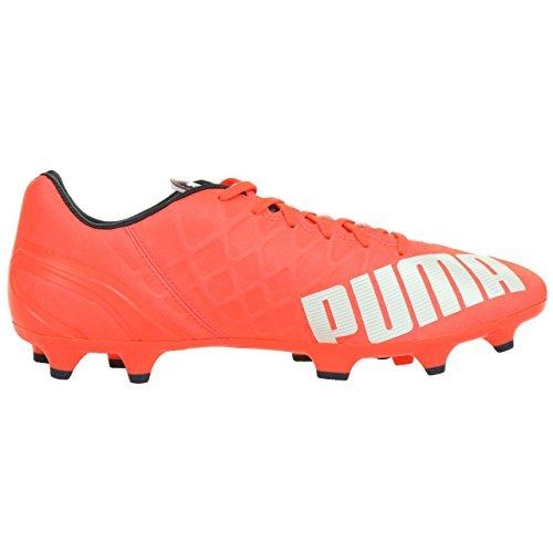 Puma Evospeed 4.4 Fg - Botas De Fútbol para hombre Orange (lava blast-white-total eclipse 01)