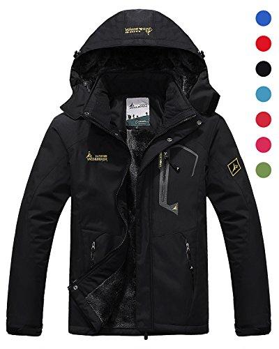 Black Snowboarding Jacket - 7