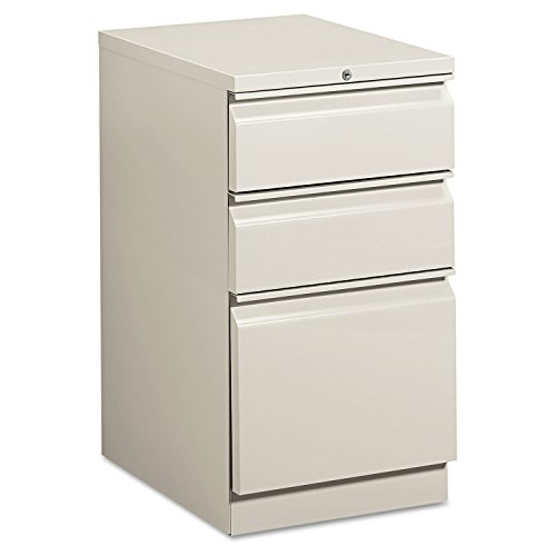 - HON33720RQ - HON Efficiencies Mobile Pedestal File w/One File/Two Box Drwrs
