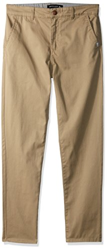 Quicksilver Boys Clothing - Quiksilver Boys' Big Everyday Union Youth Pants, Elmwood, 27