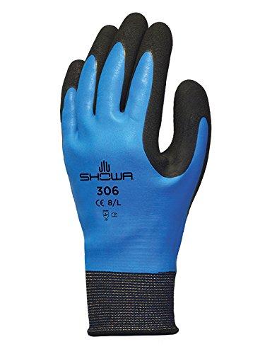 Showa Gloves SHO306-S No.306 Glove, Size: S, Blue/Black