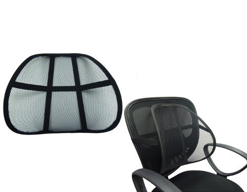 Amazon Black Mesh Lumbar Support Health Personal Care – Best Chair for Low Back Pain