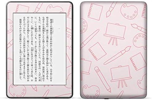 igsticker kindle paperwhite 第4世代 専用スキンシール キンドル ペーパーホワイト タブレット 電子書籍 裏表2枚セット カバー 保護 フィルム ステッカー 050751