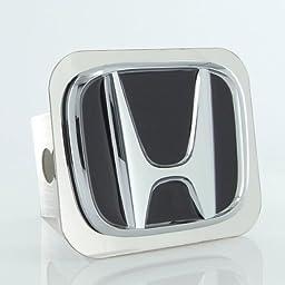 Honda Class II Chrome Logo Trailer Hitch Cover Plug