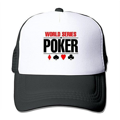 - Black World Series Of Poker TAB WSOP Las Vegas Baseball Hat Cap Black